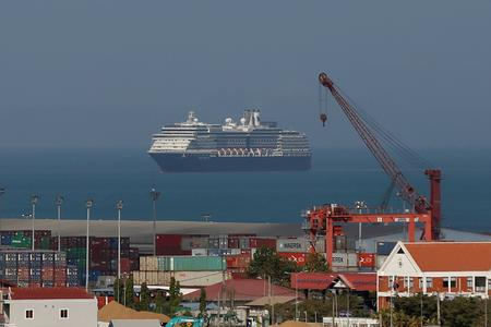 UPDATE 3-Cruise ship shunned over coronavirus fears arrives in Cambodia