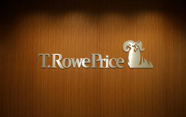 FILE PHOTO: The logo of T. Rowe Price Group is pictured at its office in Tokyo, Japan, January 13, 2017. REUTERS/Toru Hanai/File Photo