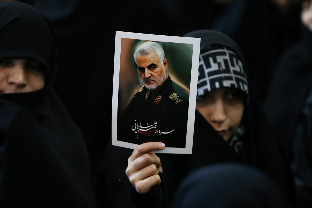 White House memo says strike on Iranian commander responded to past attacks
