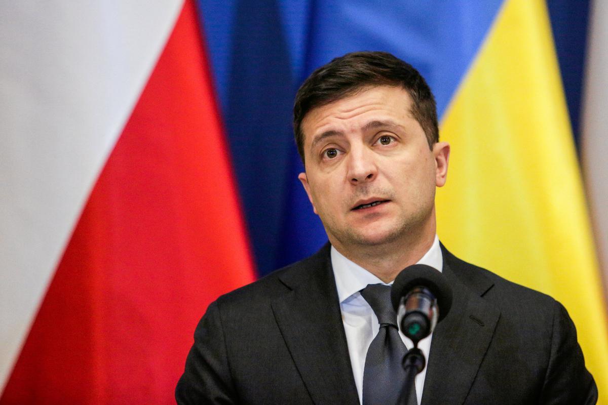 Who needs an Oscar? I'm popular in U.S. now, jokes Ukrainian leader