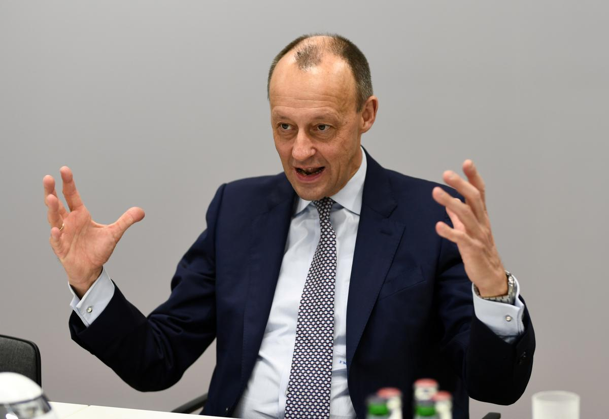 CDU's Merz would score best head-to-head against top German Green: poll