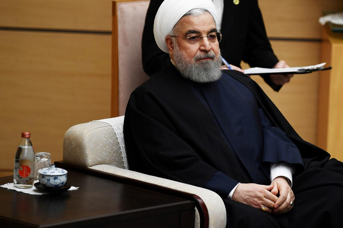 Iran's Rouhani says Tehran will never talk to U.S. under pressure