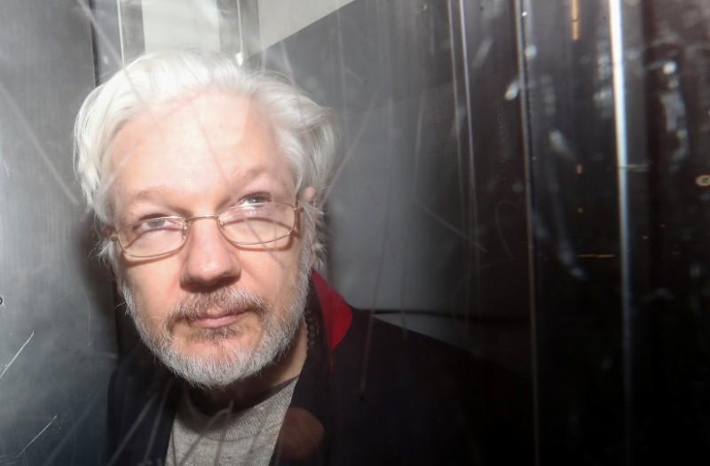 Wikileaks founder Assange's health improving in prison: spokesman