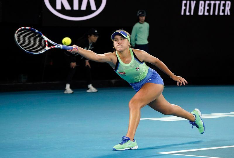 Kenin and Bencic fall at first hurdle on day of upsets in Dubai