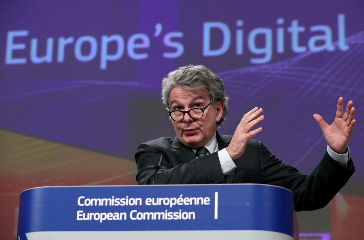 EU bets on industrial data, new rules to catch up in global tech