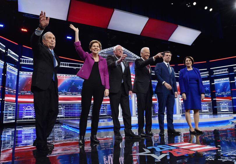 Key moments from the Democratic debate in Las Vegas | Pictures | Reuters