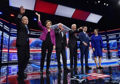 Key moments from the Democratic debate in Las Vegas