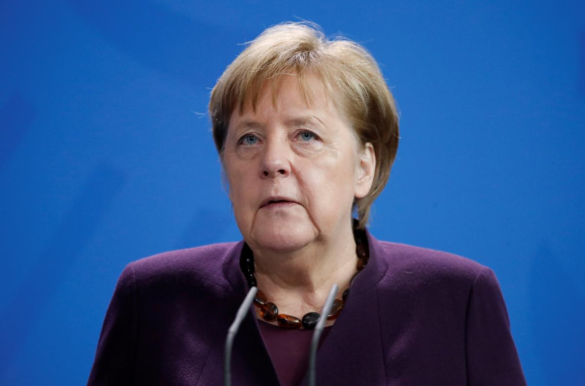 Merkel: Many signs shooter in Germany acted on right-wing, racist motives