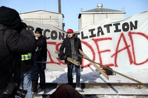 Blockades across Canada to protest pipeline