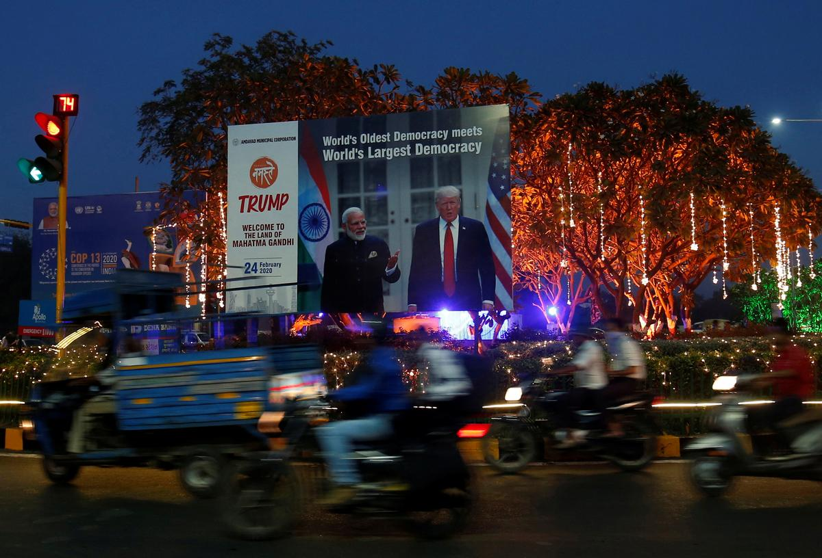 India set to dazzle Trump with pomp and circumstance as trade rows fester