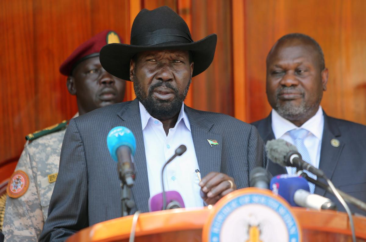 South Sudan set to swear in former rebel leader as first vice president