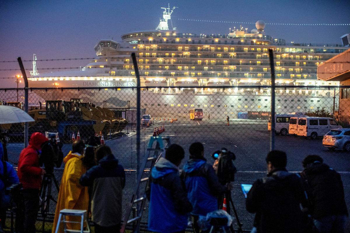 Despite horror stories, California cruise passengers won't let coronavirus spoil their fun