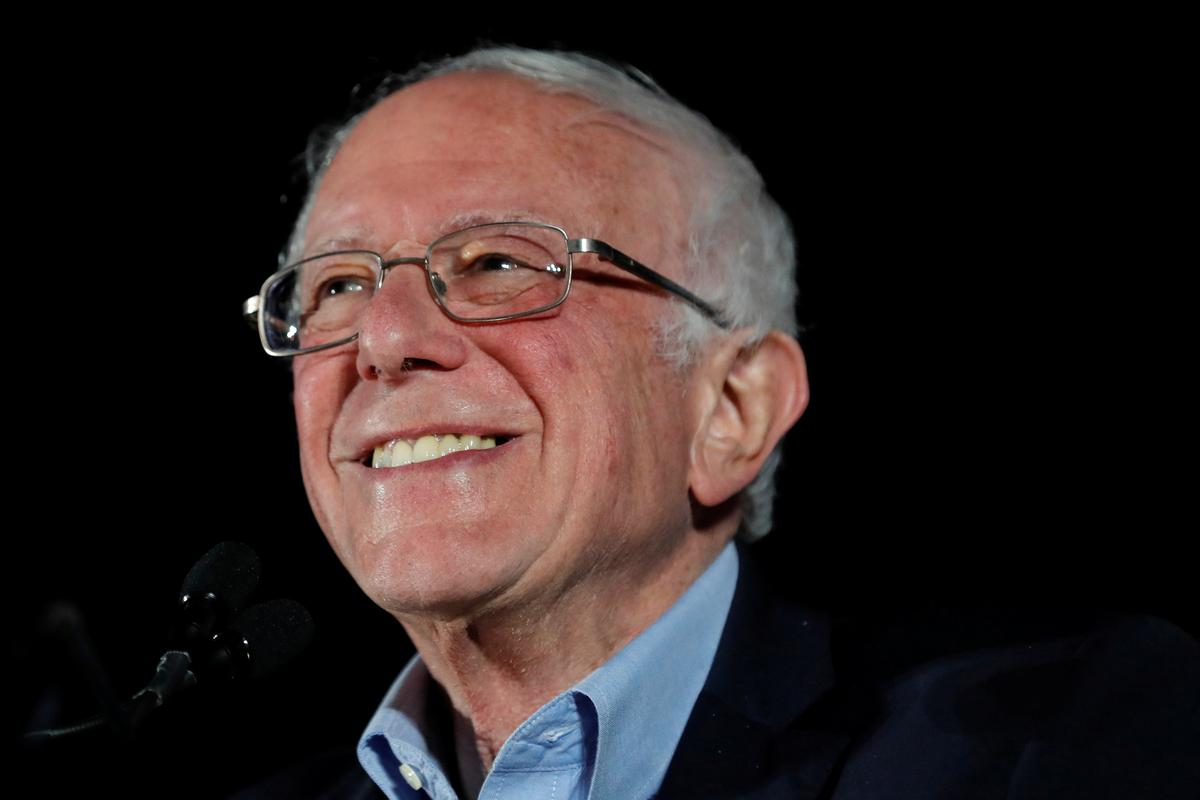 Sanders scores decisive win in Nevada, Biden heading to second place