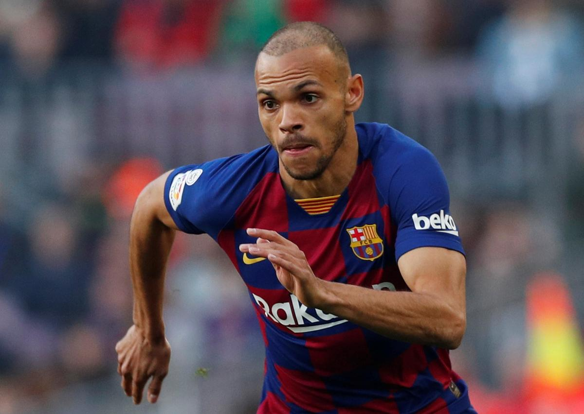 Braithwaite vows to not wash Barca shirt after Messi embrace