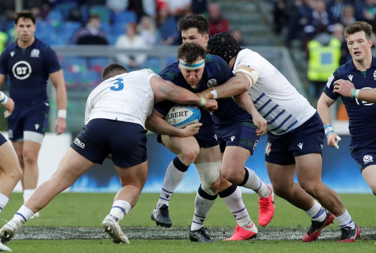 Pressure is off Scotland after Italy win, says Townsend