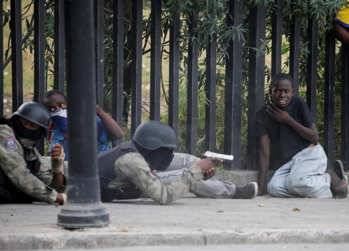 Shots fired in Haitian police Carnival protest