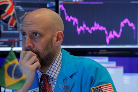 US STOCKS-Wall Street sinks as pandemic fears rattle investors