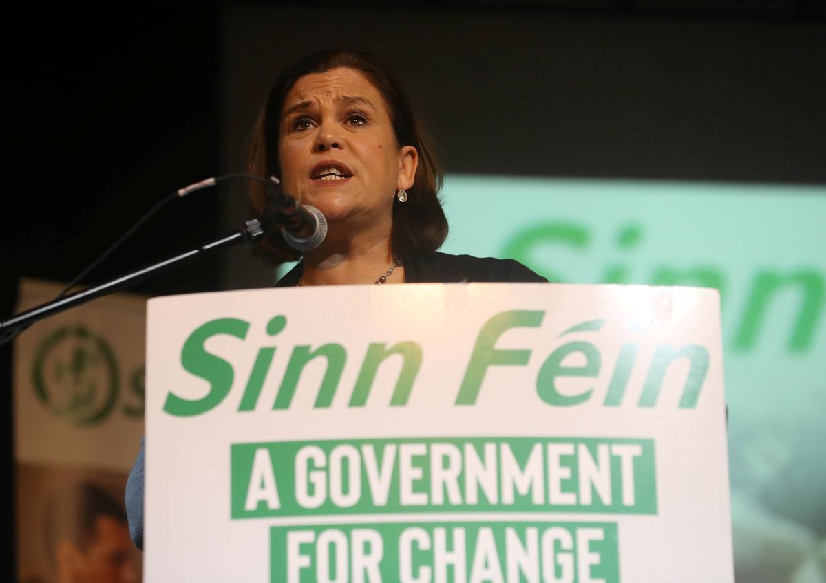 Ireland's Sinn Fein demands place in government at Dublin rally