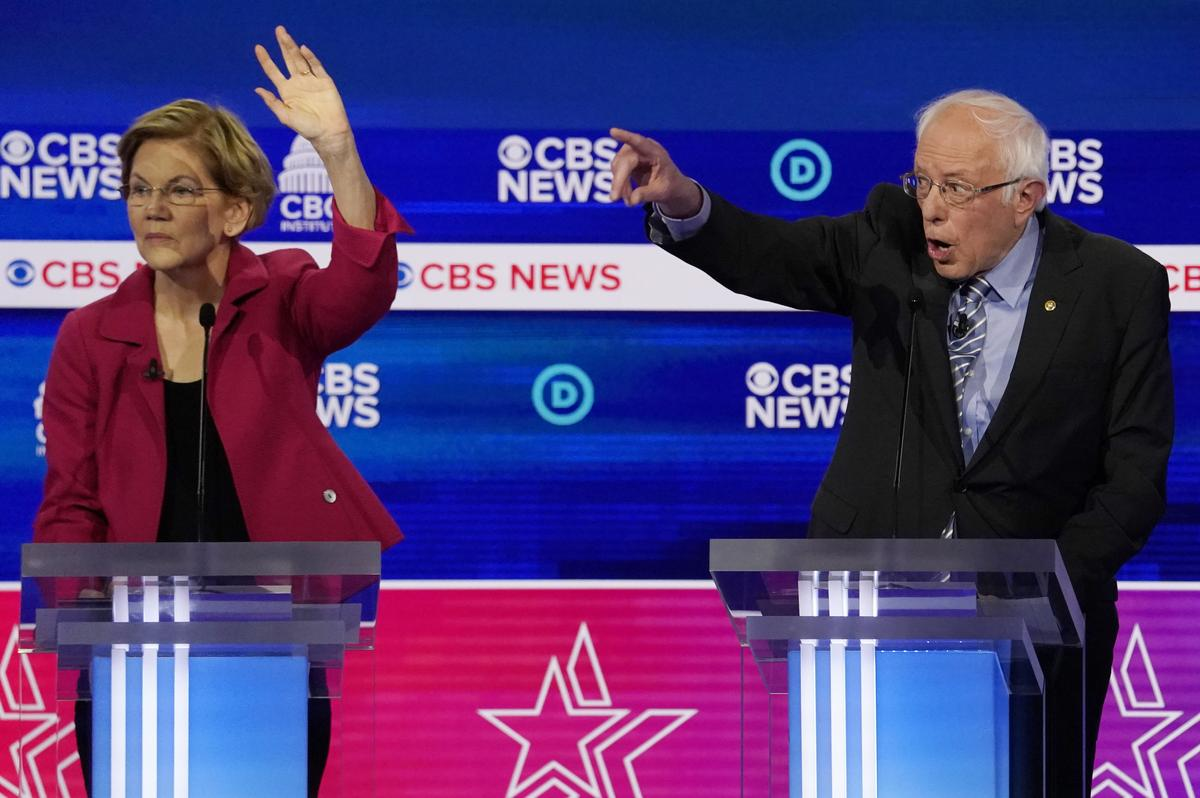 Sanders comes under fire early at South Carolina Democratic debate