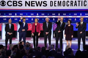 Key moments from the Democratic debate in South Carolina