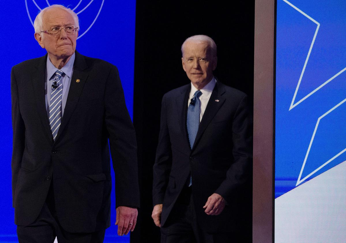 Raucous Democratic debate yields no clear challenger to Sanders