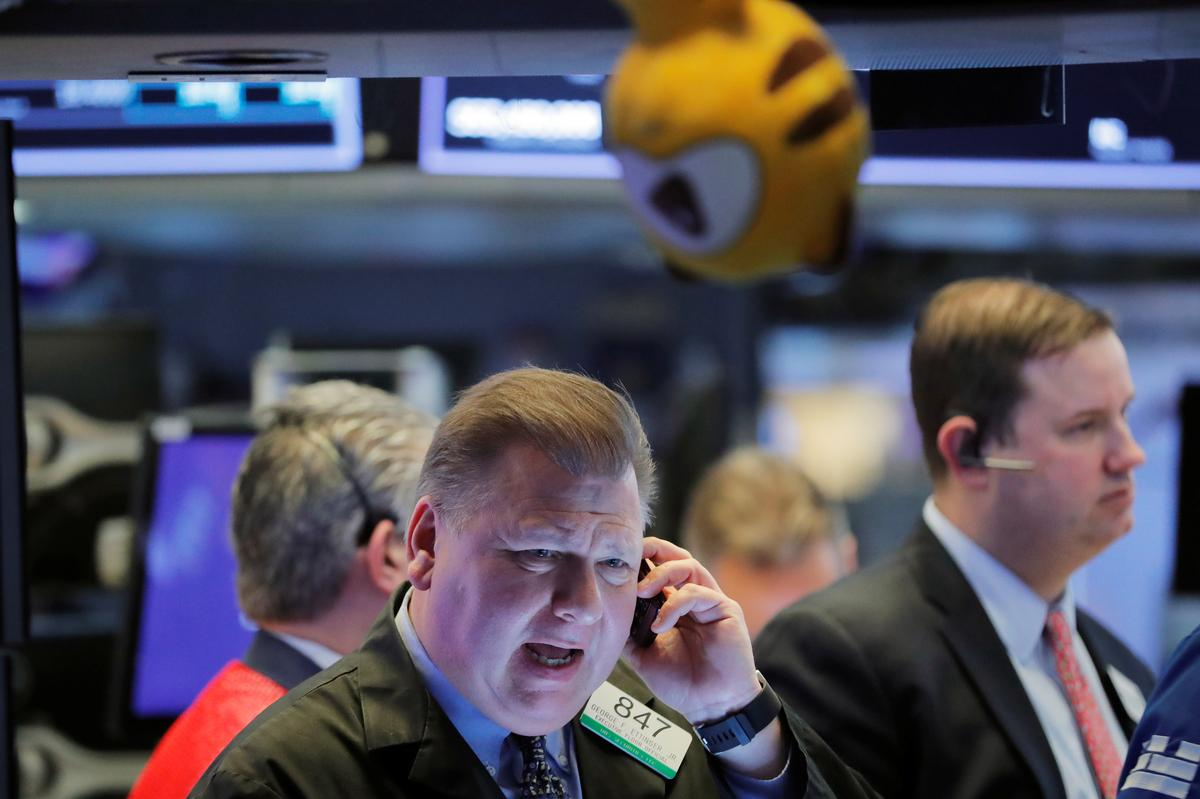 Wall Street tumbles again on virus fears, confirming correction