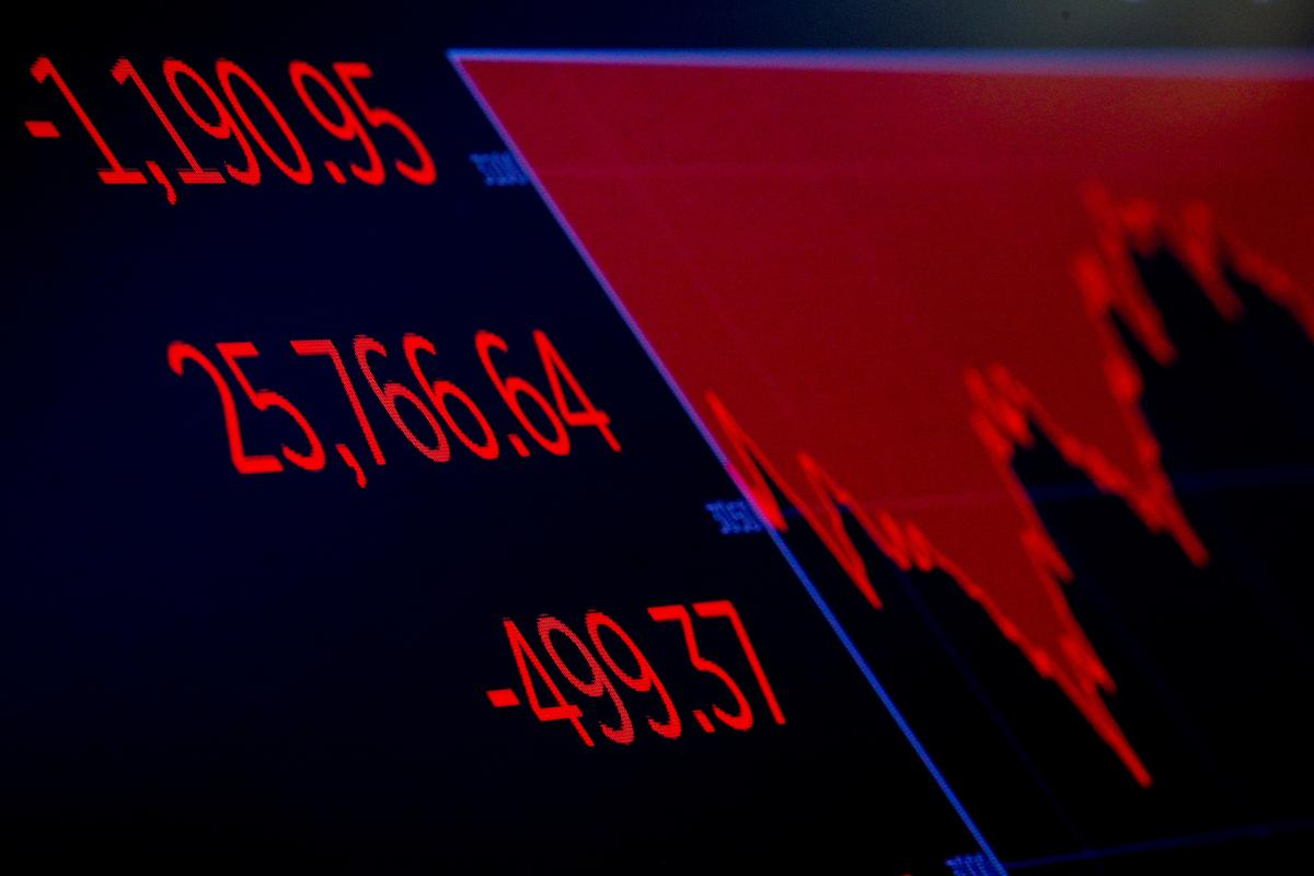Wall Street plunges at the open as pandemic fears heighten