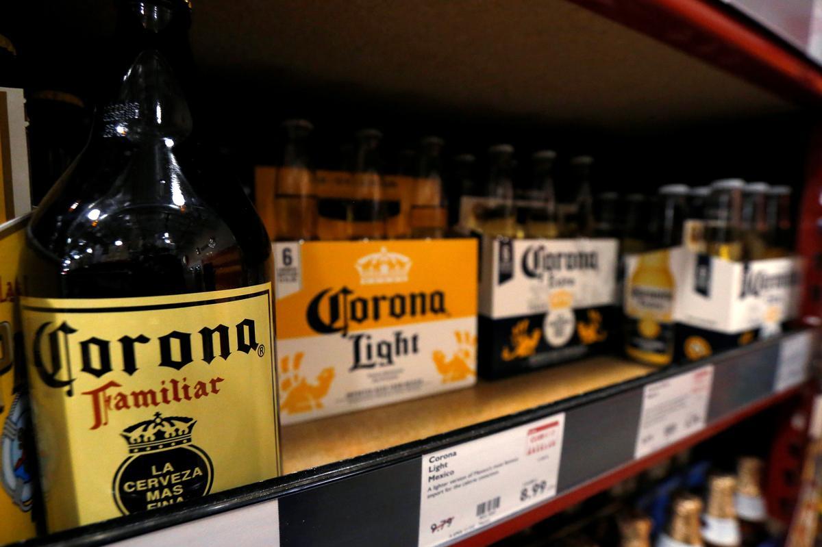 Corona beer maker says U.S. sales remain strong despite virus outbreak