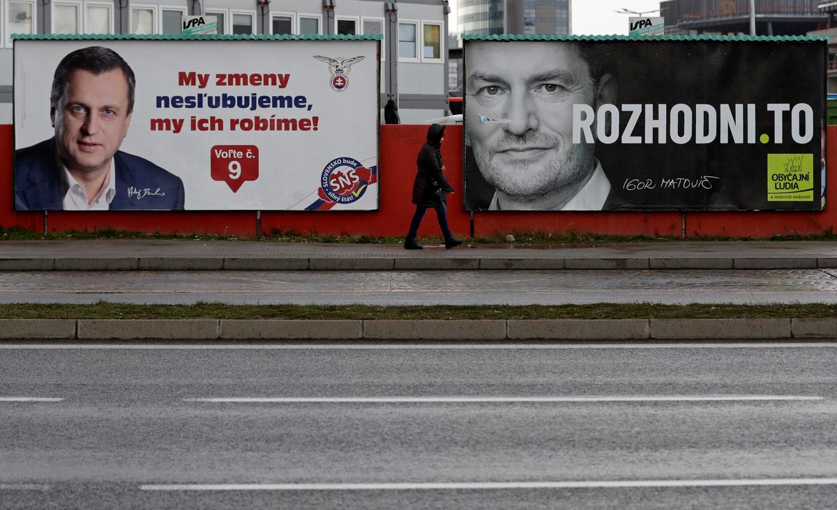 Slovaks poised to oust ruling Smer party in election clouded by graft