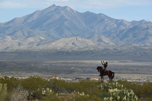 Apache tribe marches to protect sacred Arizona site from copper mine