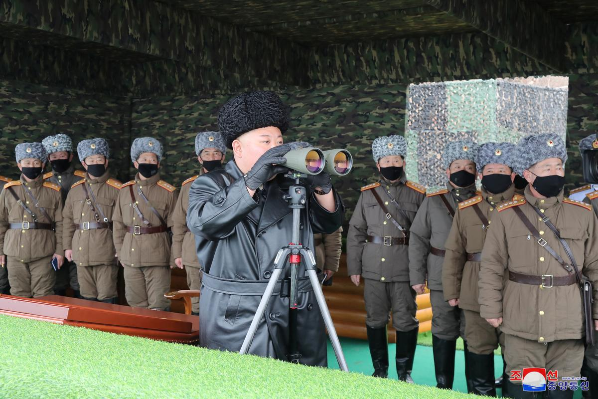 North Korea's Kim guides military drills, warns 'serious consequences' if virus breaks out - KCNA