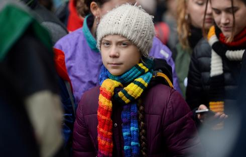 Greta Thunberg takes climate protest to European Parliament