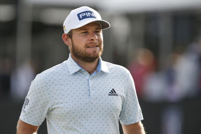 Golf: Hatton 'cuddling the toilet' after victory celebration