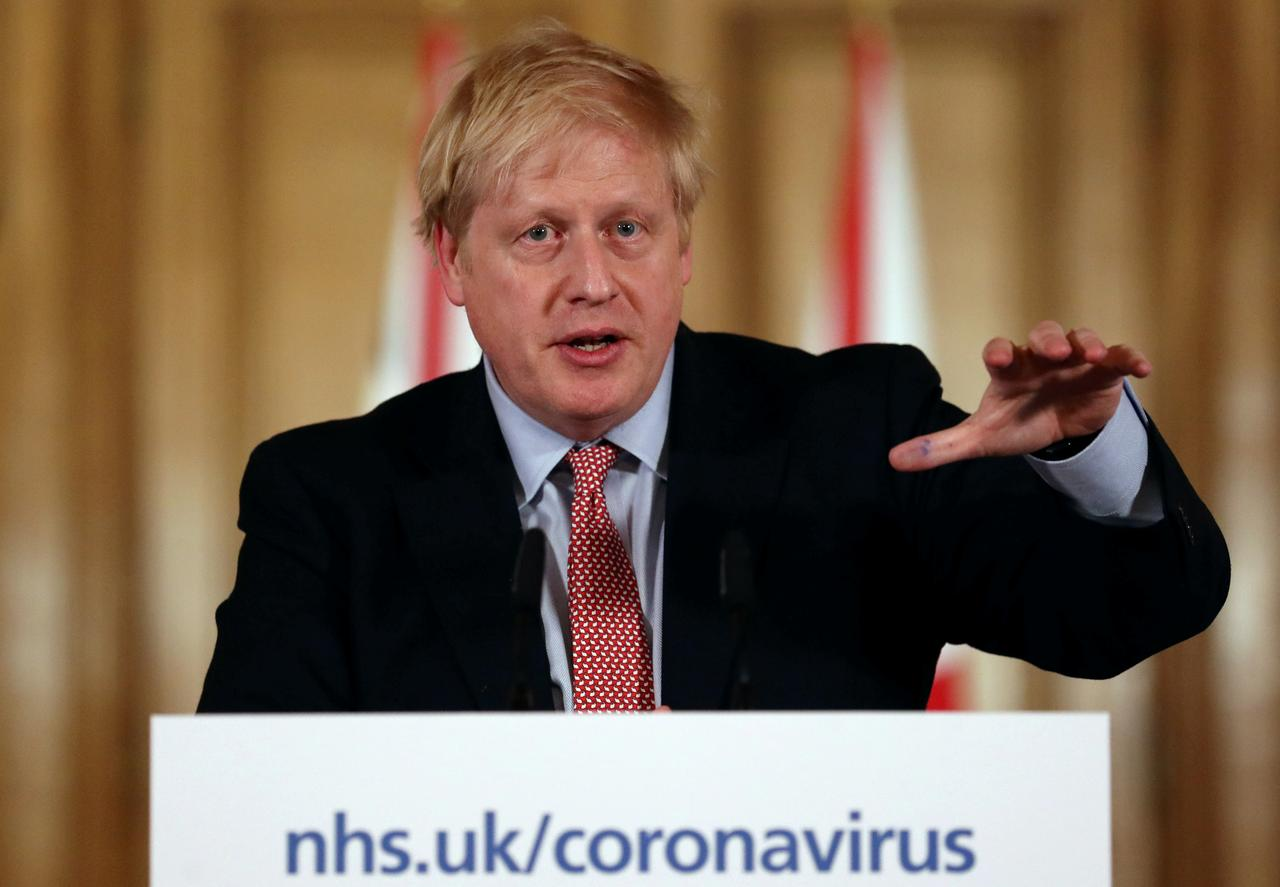 British PM Boris Johnson Tells People to Work from Home, Stay Out of Pubs and Clubs and to Stop All 'Non-essential' Social Contact for 12 Weeks as he Reveals London is Now 'a Few Weeks' Ahead of the Rest of UK – as Death Toll Hits 55