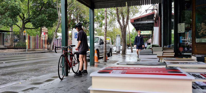 Australia book shop gets on its bike to ease coronavirus shutdown