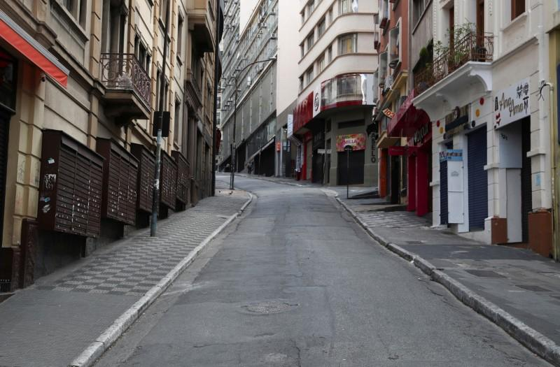 As Sao Paulo goes into coronavirus lockdown, China offers to help Brazil