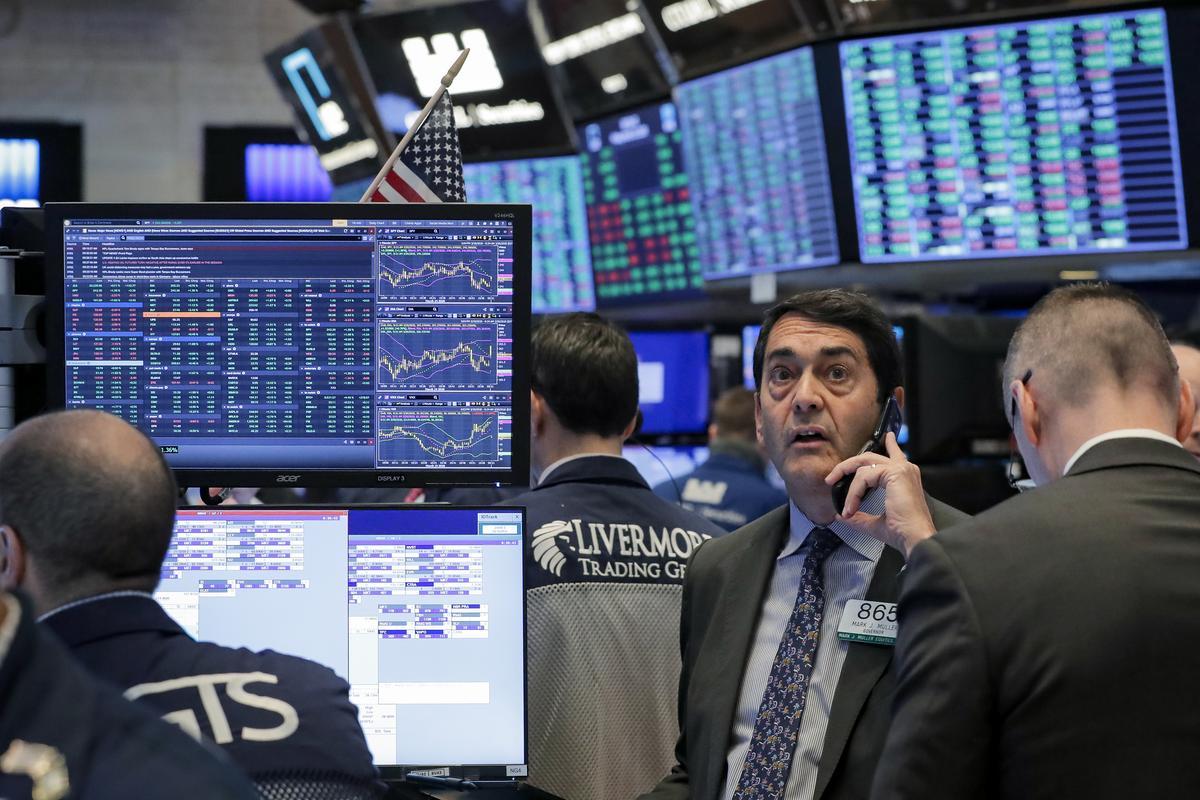 Wall Street gains ahead of Senate vote on $2 trillion aid package