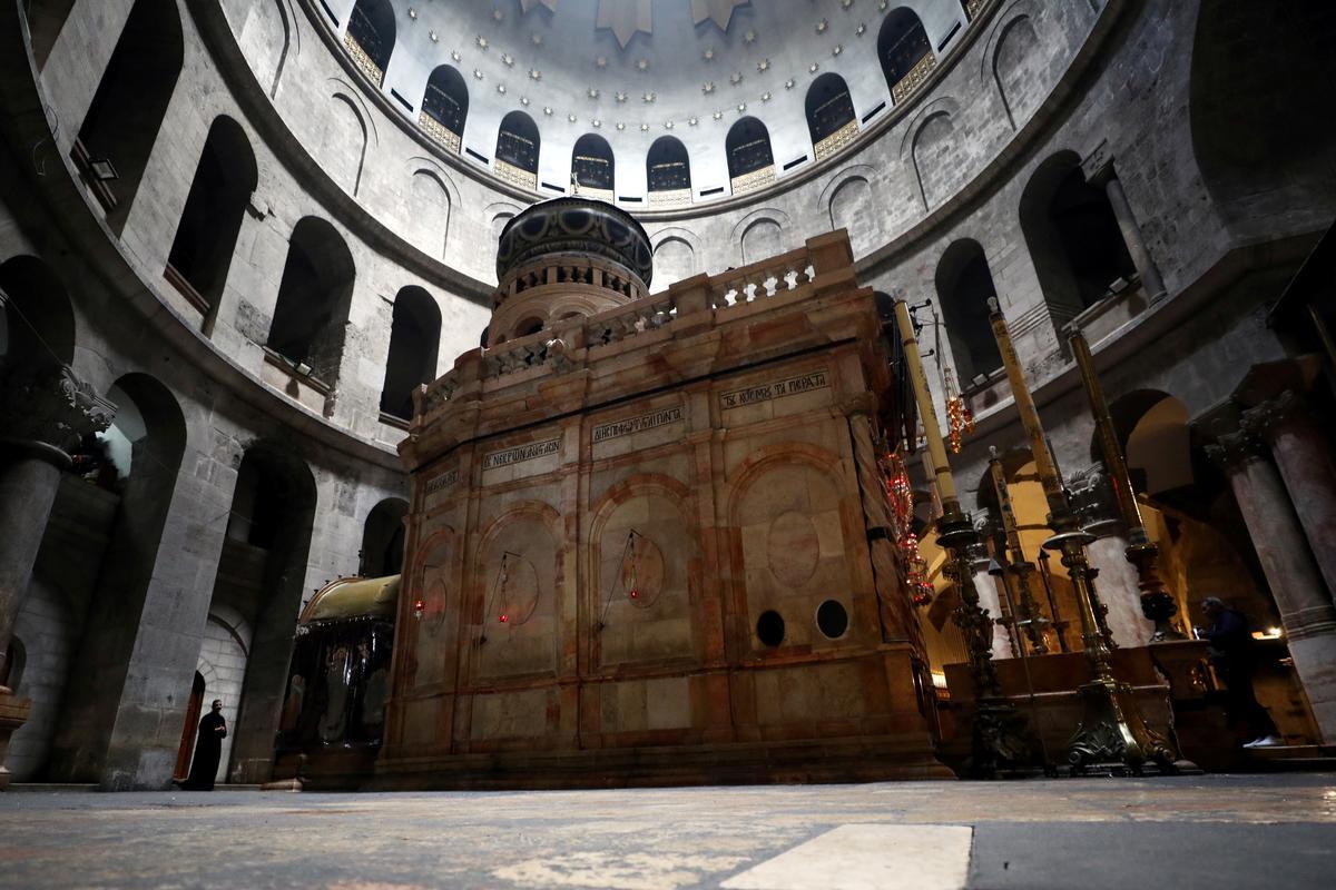 Jerusalem's Church of the Holy Sepulchre closes amid coronavirus fears