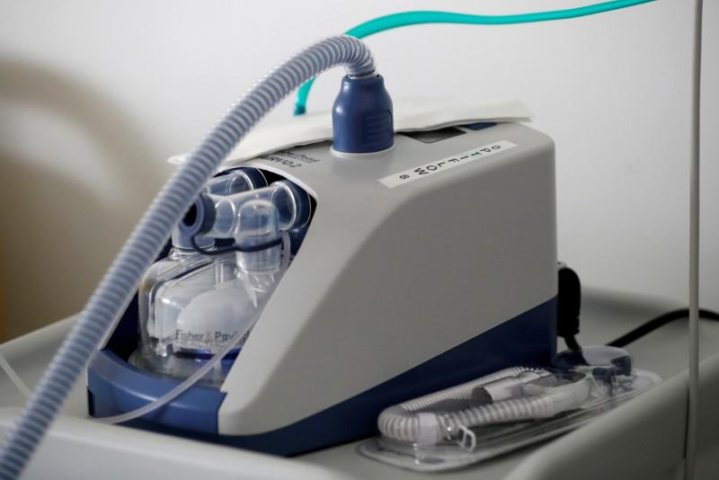 UK has 8,000 ventilators and another 8,000 on the way, junior minister says