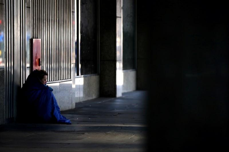 London's homeless stuck on the streets during coronavirus lockdown