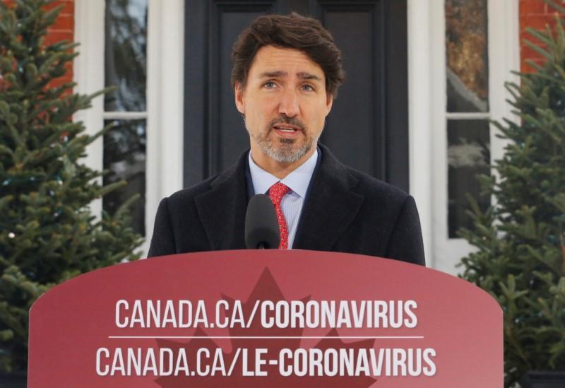 Canada's Trudeau balks at potential troop deployment on U.S. border