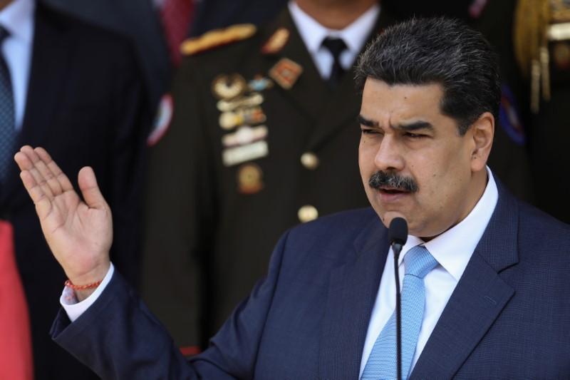 U.S. announces reward up to $15 million for Venezuela's Maduro