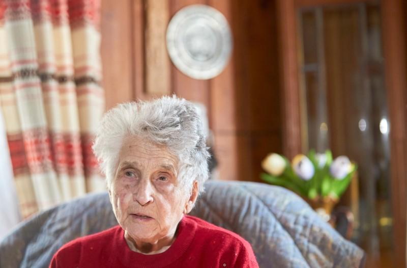 """I was not afraid"": Swiss woman, 95, back home after surviving coronavirus"