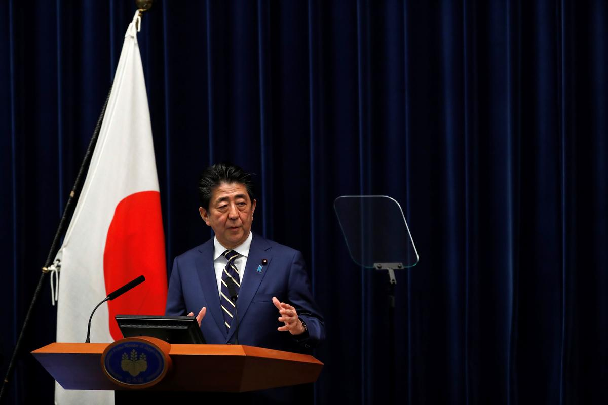 Japan's Abe warns coronavirus outbreak could worsen if people don't take proper measures