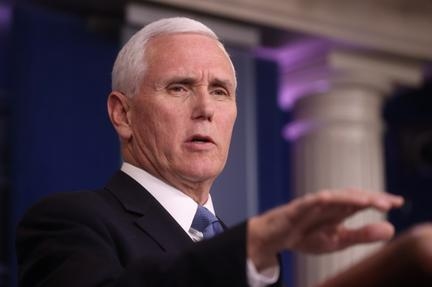 Pence says virus taskforce soon to deliver recommendation on whether to re-open economy