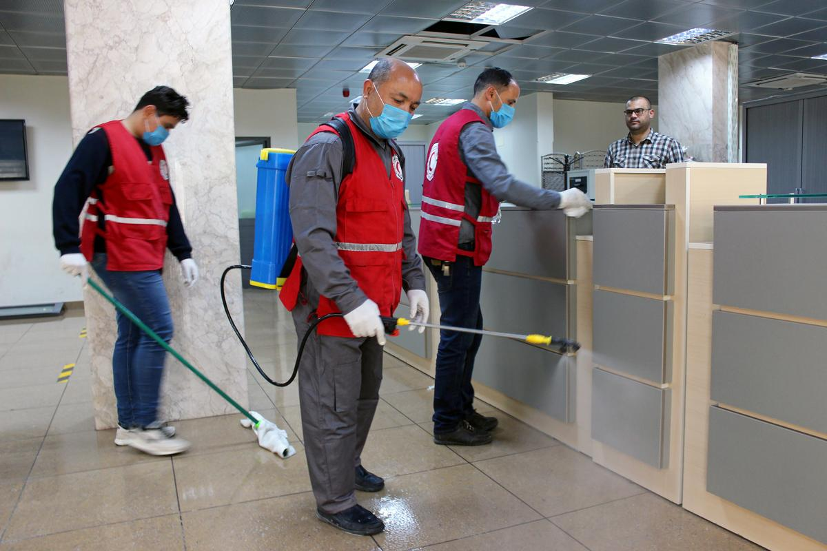 More coronavirus cases in Libya as fighting rages