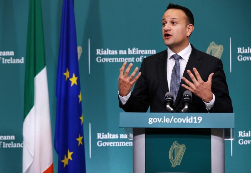 Ireland must cut coronavirus case growth rate to 5%, PM says
