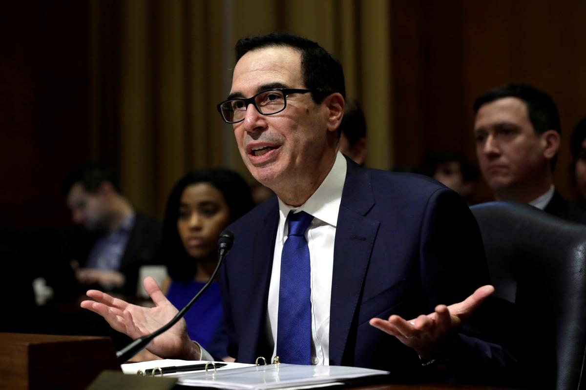 U.S. small banks have processed more than 700 small business relief loans for $2.5 million: Mnuchin