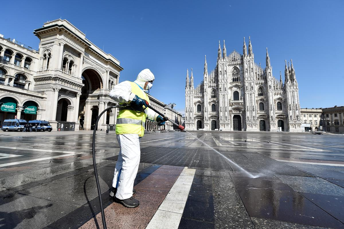 As COVID-19 deaths steady, Italy's health minister eyes next phase