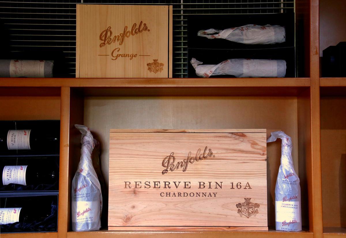 Australia's Treasury Wine, to cope with virus, weighs Penfolds demerger, U.S. cutback